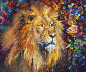 Leo, lion, and fineart image
