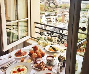 food, breakfast, and paris image