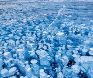 ice, blue, and nature image