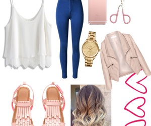 casual, girly, and inspiration image