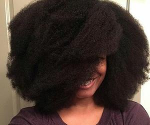 natural hair, Afro, and hair image