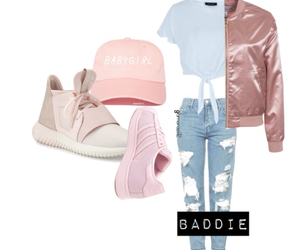 addidas, caps, and jeans image