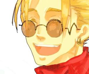 anime, sunglasses, and trigun image