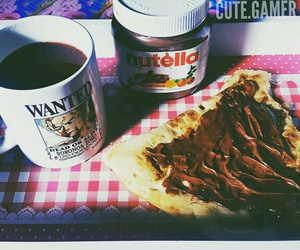 anime, coffee, and nutella image