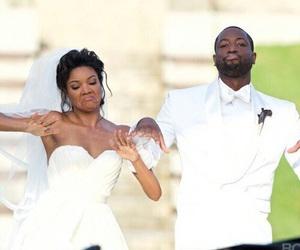 dwayne wade, wedding, and gabrielle union image