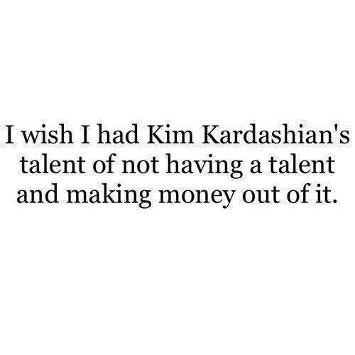 kim kardashian, quote, and talent image