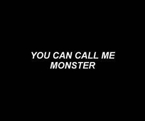 monster, quotes, and exo image