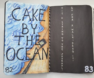 wreck this journal, my wreck this journal, and cake by the ocean image