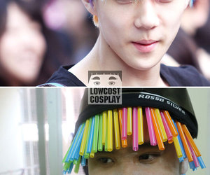 sehun, exo, and funny image