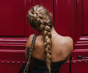 blonde, braid, and chanel image