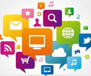 seo, marketing online, and redes sociales image