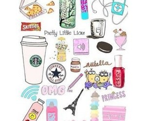 starbucks, nutella, and arizona image