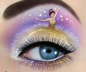 art, eye, and make up image