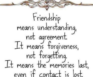 friendship and quote image