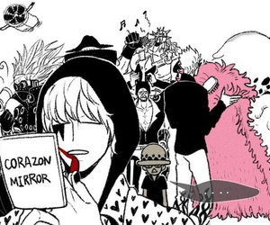 corazon, one piece, and pica image