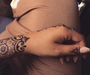 henna, muslim, and style image