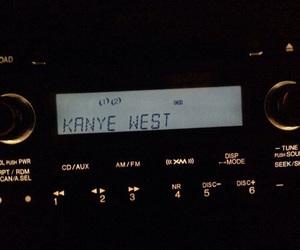kanye west, music, and radio image