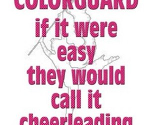 cheerleading and color guard image
