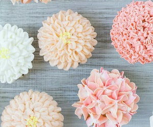 cupcakes, pink, and soft image