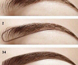 eyebrows, makeup, and tutorial image