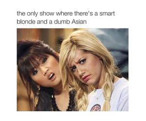 funny, blonde, and meme image