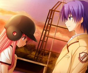 anime and angel beats image