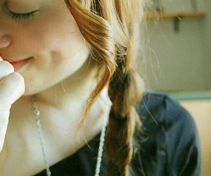 girl, cute, and braid image