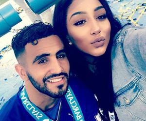 Algeria, couple, and riyad mahrez image