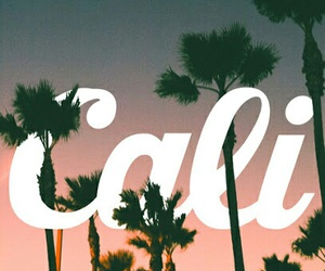 california, cali, and summer image