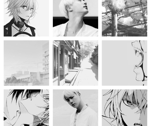 aesthetics, jin, and bts image