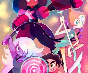 steven universe, garnet, and pearl image