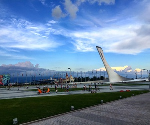 russia, view, and sochi image