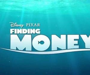 funny, money, and disney image