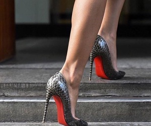 beatiful, louboutins, and shoes image