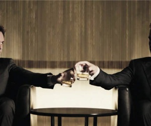 suits, mike ross, and harvey specter image