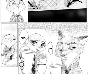 comic, love story, and zootopia image