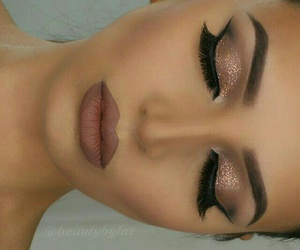 eyes, lips, and face image
