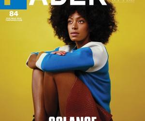 fashion, magazine, and Afro image