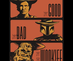 boba fett, star wars, and wookie image