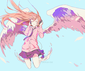 anime, angel, and kawaii image