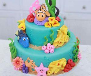 food, cake, and nemo image