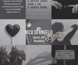 nico di angelo, hades, and percy jackson image