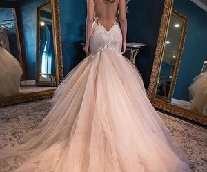 beautiful, dress, and weddingdress image