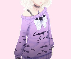 pastel and pastel goth image