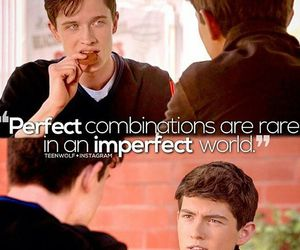 teen wolf, derek hale, and imperfect image
