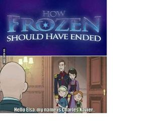 frozen, elsa, and xmen image