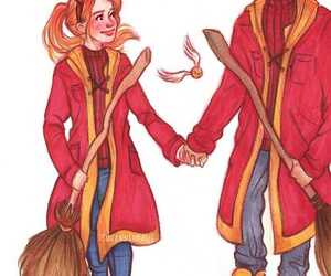 book, harry potter, and ginny weasley image