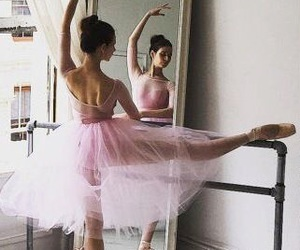 ballerina, pink, and point image