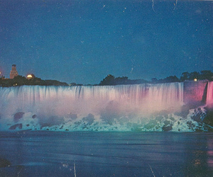 waterfall, photography, and nature image