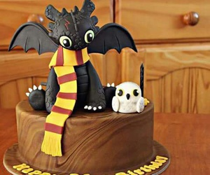 harry potter and cake image